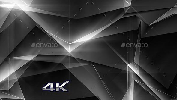 White Abstract Polygonal Background - Abstract Backgrounds