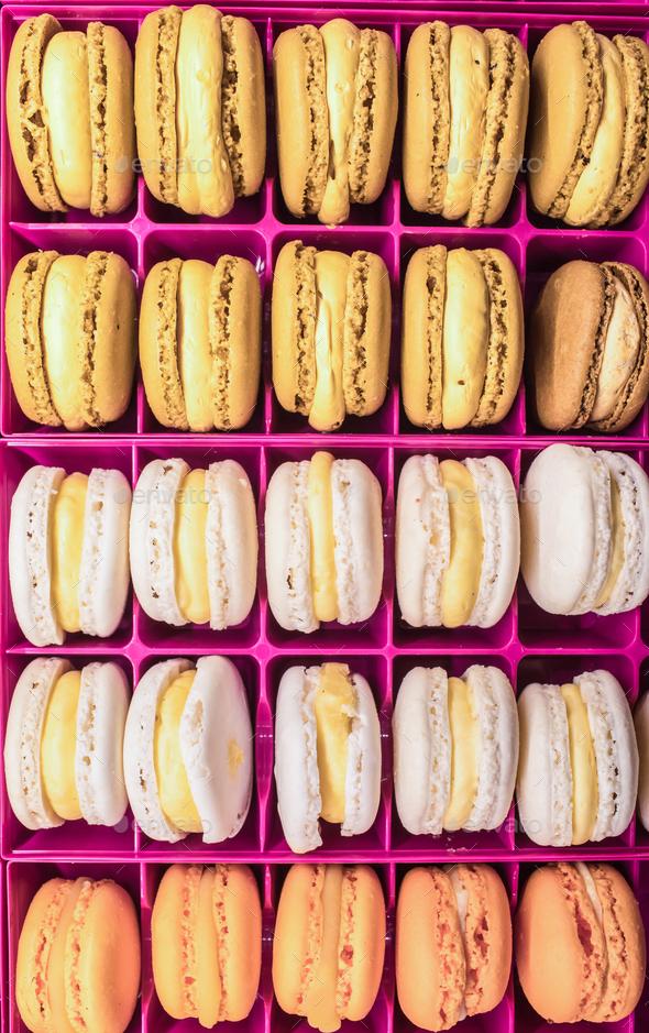 French Macaron - Stock Photo - Images