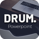 Drum Powerpoint Template - GraphicRiver Item for Sale