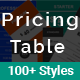 Pricing Table - Responsive Clean Creative Pricing Table