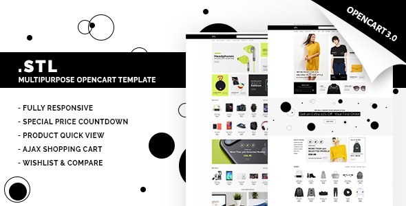 STL - Multipurpose Opencart Theme 3.0.2 - Fashion OpenCart