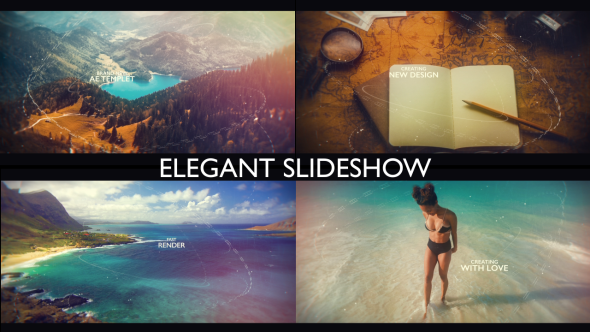 VideoHive Cinematic Slideshow 21205205