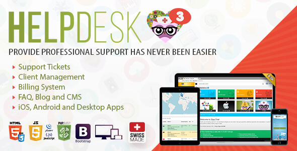 HelpDesk 3 - The professional Support Solution Free Download | Nulled