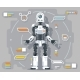 Artificial Intelligence Robot Android Futuristic