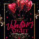 Valentine Night Party Flyer