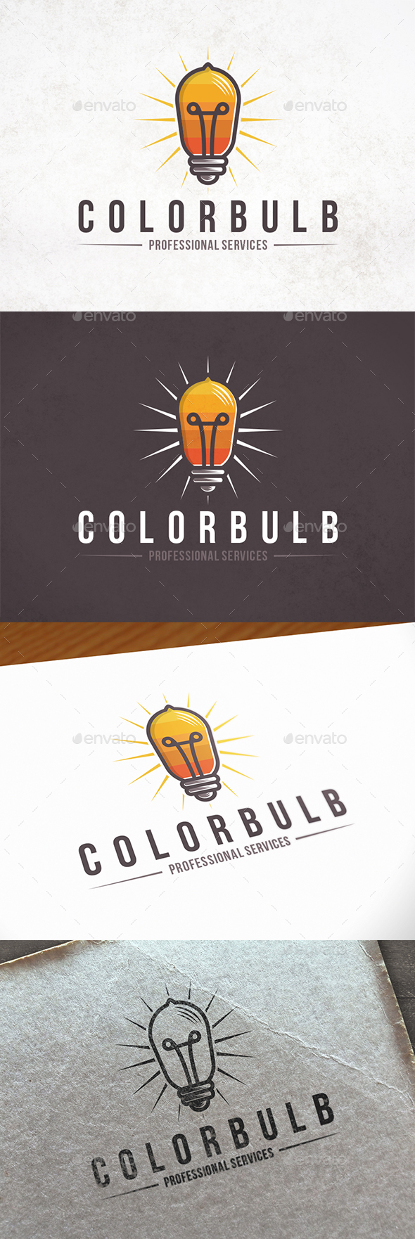 GraphicRiver Light Colors Logo Template 21206275