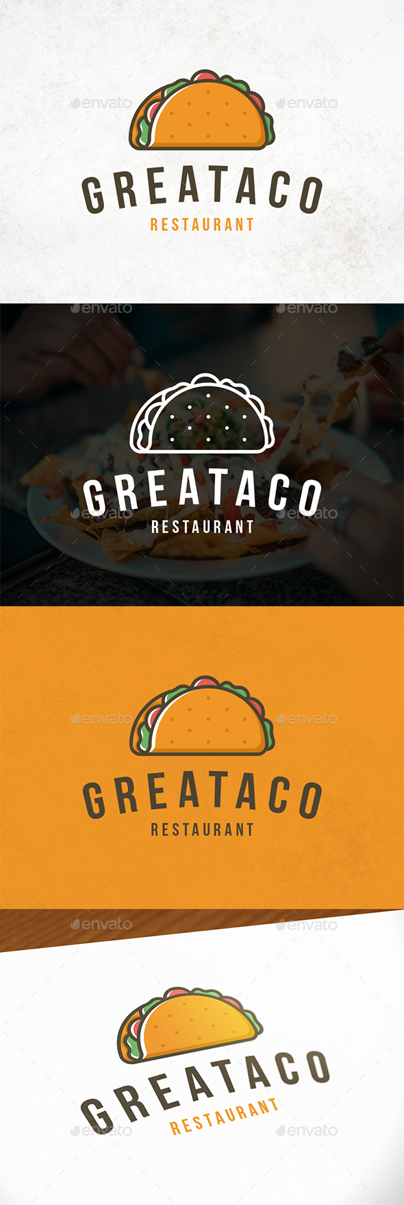 GraphicRiver Delicious Taco Logo Template 21206279
