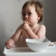 Toddler Boy Eating Pasta - VideoHive Item for Sale
