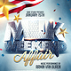 MLK Weekend Affair Flyer Template - GraphicRiver Item for Sale