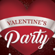Valentine's Day Party Flyer 02