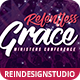 Relentless Grace Modern Church Flyer