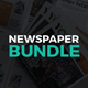 Newspaper Design Bundle - GraphicRiver Item for Sale