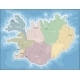 Map of Iceland - GraphicRiver Item for Sale