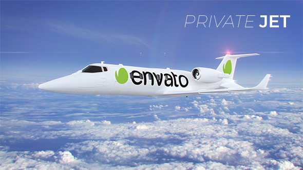 VideoHive Private Jet 21206912