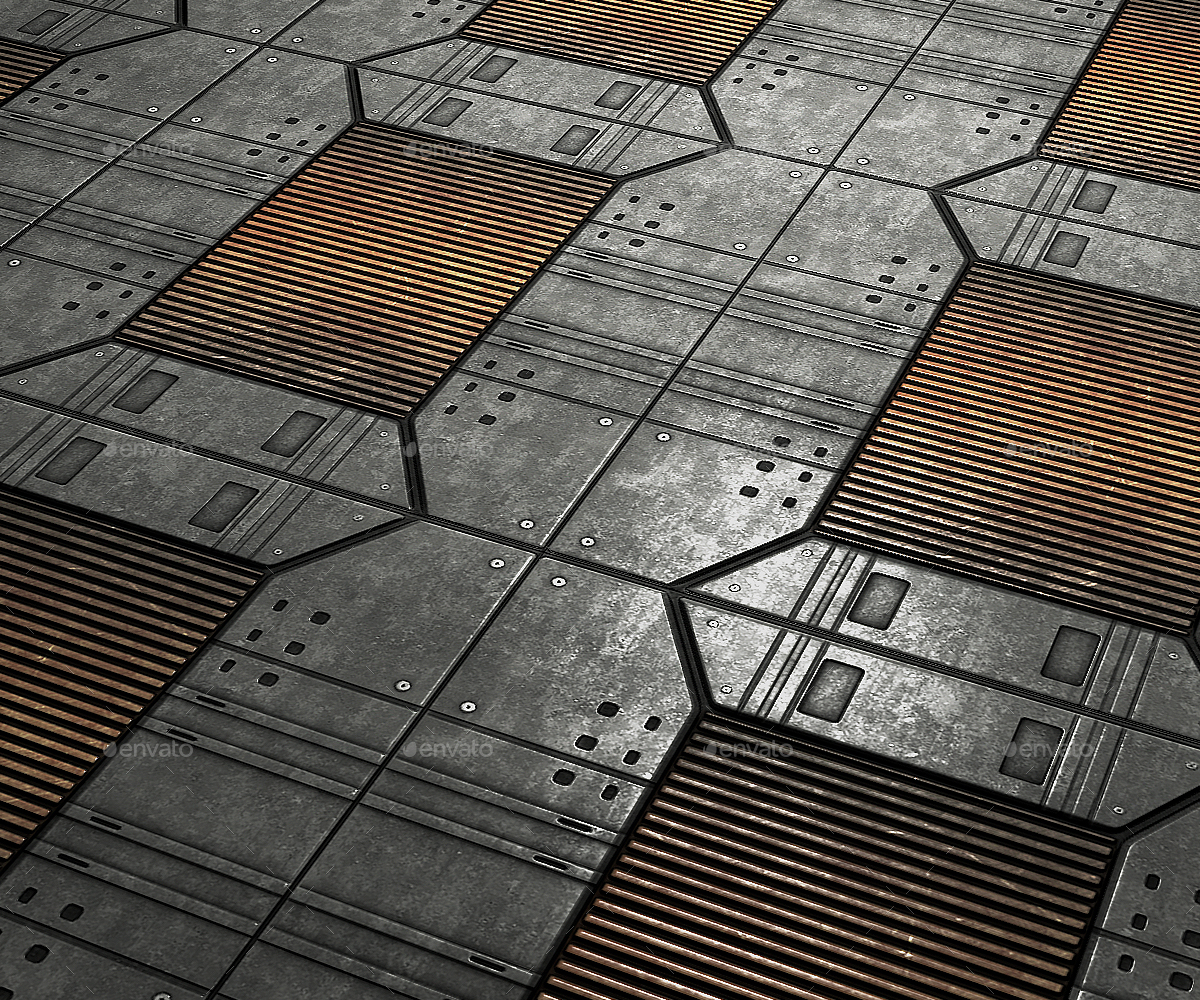 Sci Fi Floor Panel 04 By Neogeo37 3docean