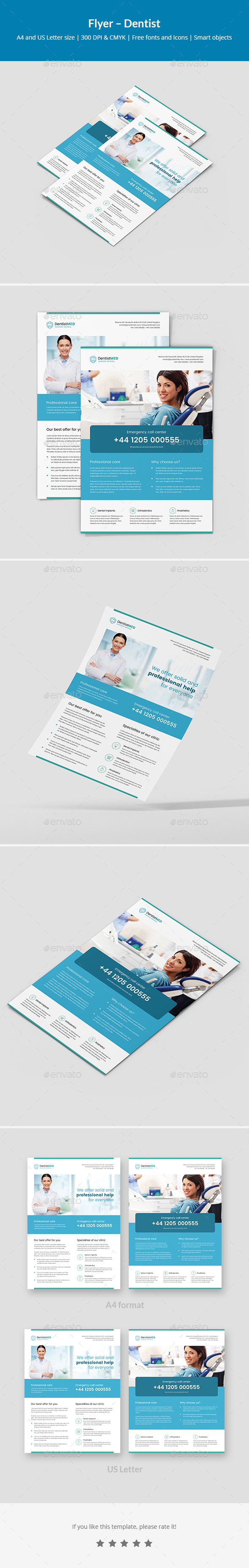 Flyer – Dentist - Corporate Flyers