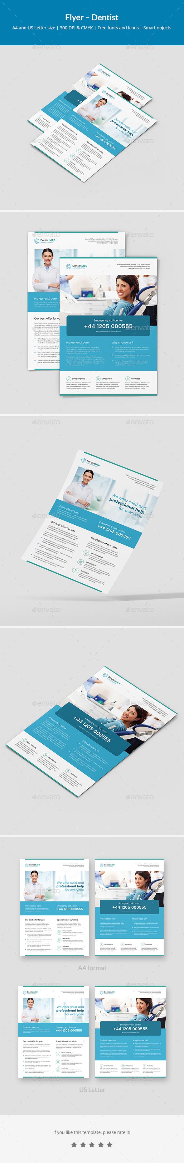 Flyer – Dentist - Corporate Flyers