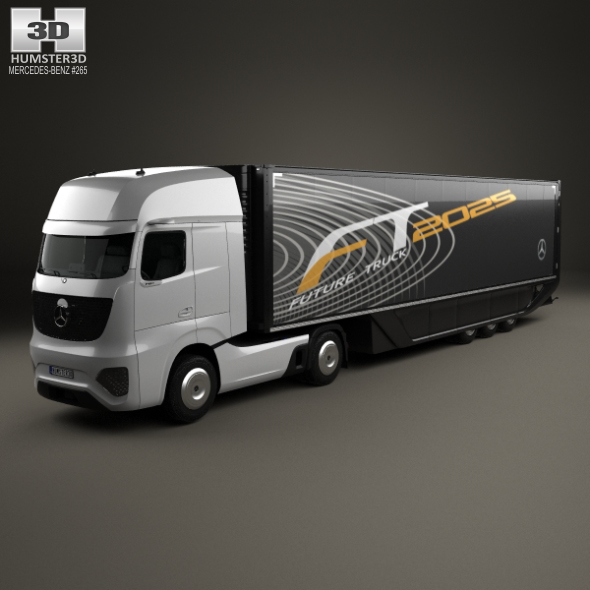 Mercedes-Benz Future Truck with Trailer 2025