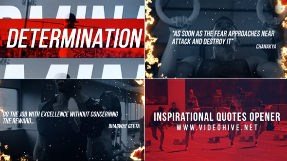 VideoHive Inspirational Quotes opener 21207220
