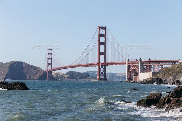 Golden Gate bridge - Stock Photo - Images