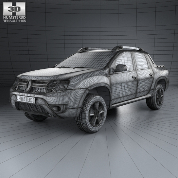 Renault Duster Oroch 2015 By Humster3d 3docean