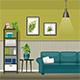 Illustration of a Modern Living Room