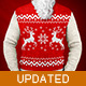 Christmas Sweater - Photoshop Actions and Mock-Up - GraphicRiver Item for Sale