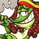 Rasta Frog