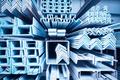steel construction materials closeup - PhotoDune Item for Sale