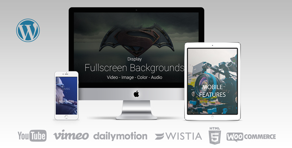 Ultimate Media Background for WordPress - CodeCanyon Item for Sale