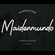 Maidenmundo Handwritten - GraphicRiver Item for Sale