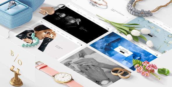 ThemeForest BELLAGIO Jewelry eCommerce PSD Template 21137660