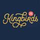 Kingbirds - 6 Styles Monoline Script