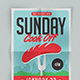 Sunday Cook Off Flyer - GraphicRiver Item for Sale