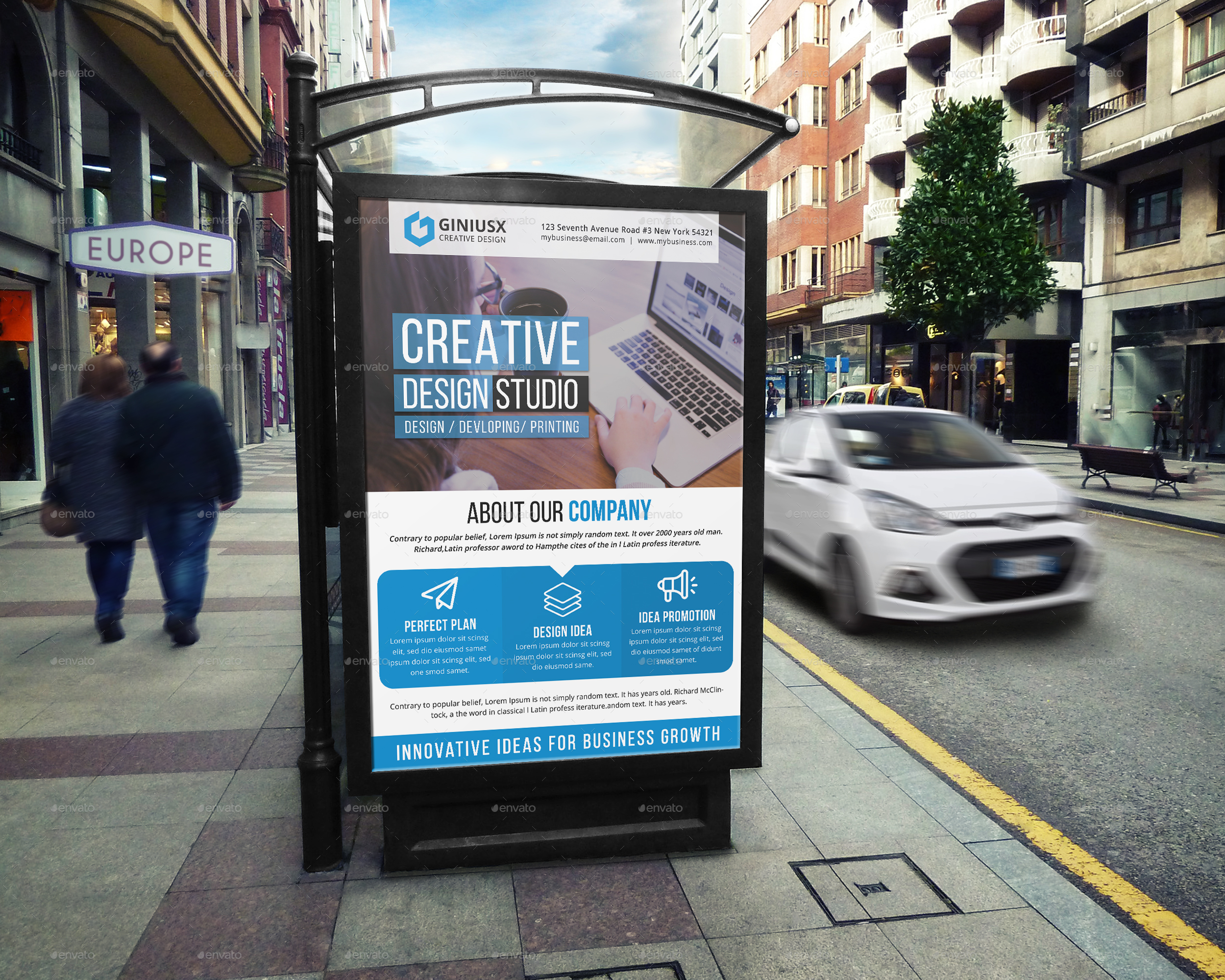 Creative Poster Template
