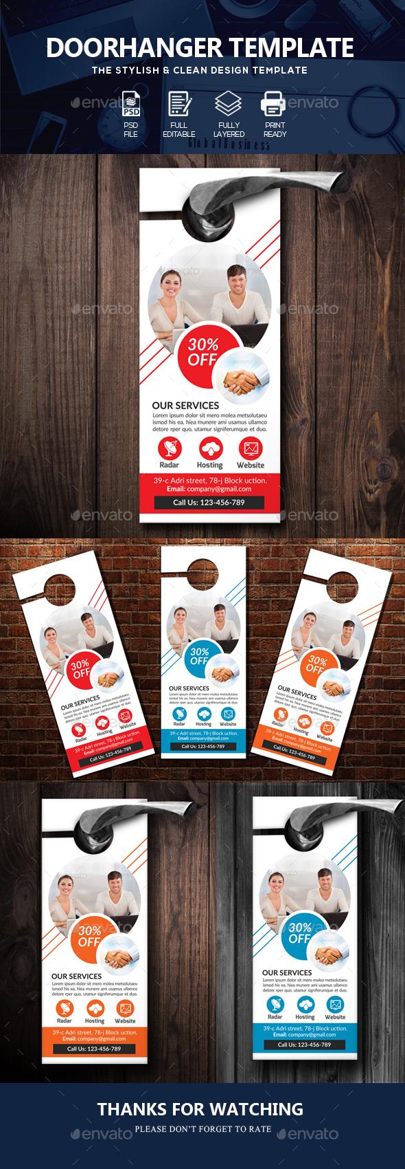 Official Business Door Hanger - Miscellaneous Events