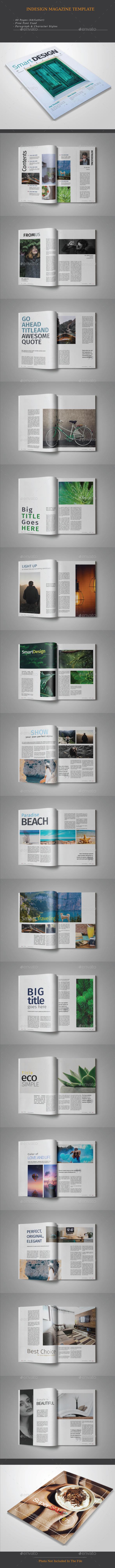 Smart Design Magazine - Magazines Print Templates