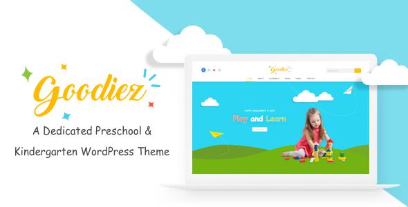ThemeForest Goodiez Kindergarten WordPress Theme 20990731
