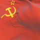 URSS Soviet Union Flag Waving