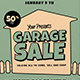 Retro Garage Sale Flyer - GraphicRiver Item for Sale