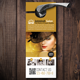 Beauty Salon/Fashion Door Hanger - GraphicRiver Item for Sale