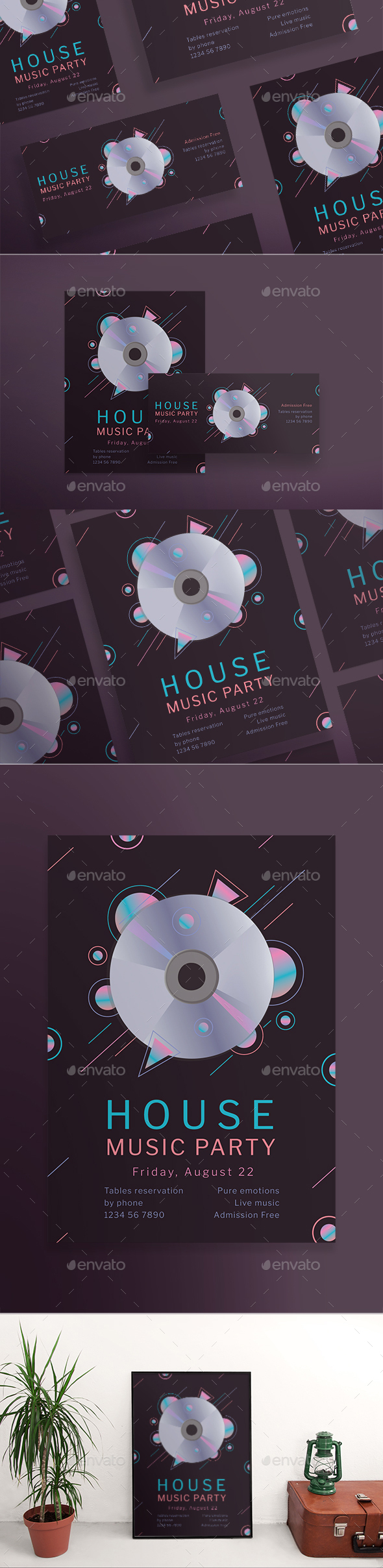 Music Party Flyers - Clubs & Parties Events
