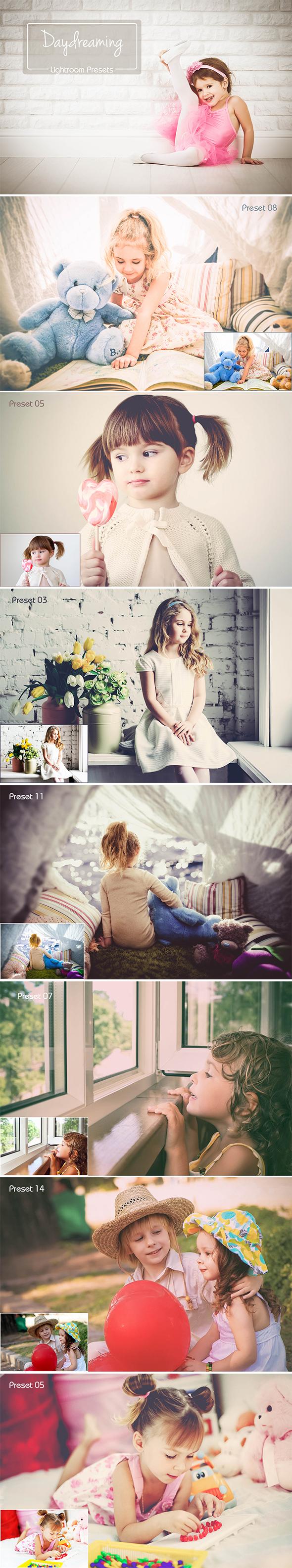"""20 Lightroom """"Daydreaming"""" Presets - Portrait Lightroom Presets"""