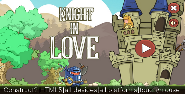 Knight in Love 2018 - CodeCanyon Item for Sale