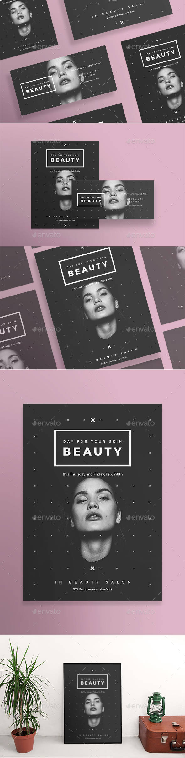 Skin Beauty Flyers - Miscellaneous Events