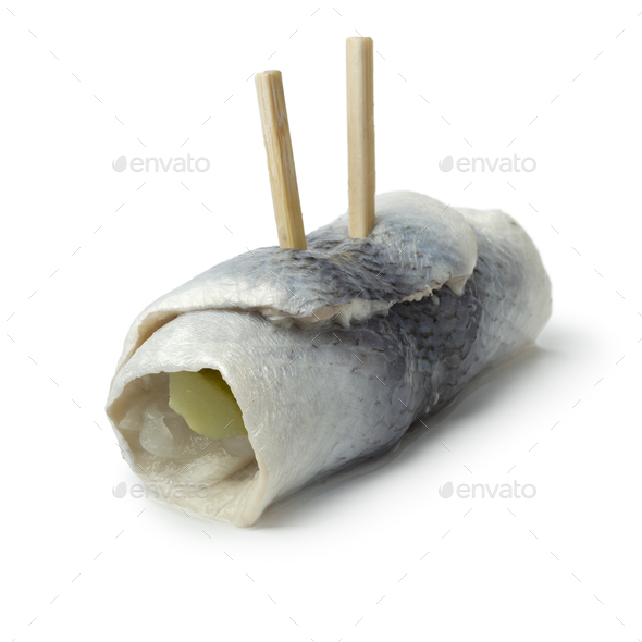 Traditional rollmops - Stock Photo - Images