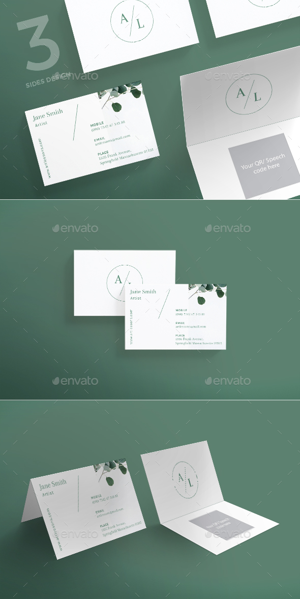 Art Lessons Business Card - Creative Business Cards
