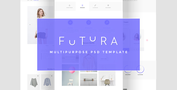 Futura - Multipurpose PSD Template | Corporate - Business Corporate