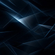 Epic Dark Blue Abstract Geometrical Lines