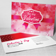 Valentine Post Card Templates